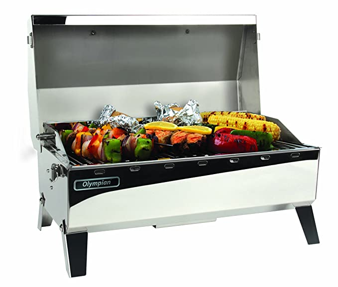 Amazon.com: Camco Olympian 5500 - Parrilla de gas propano ...