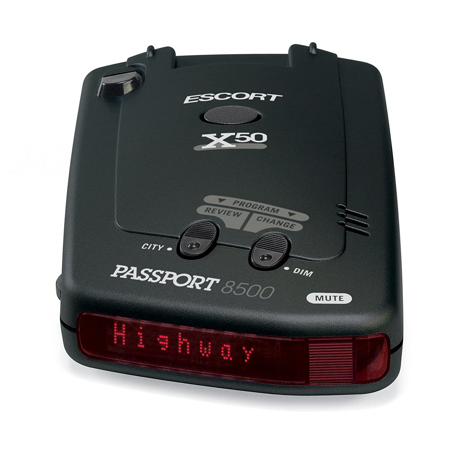 Amazon Escort Passport 8500X50 Black Radar Detector Red