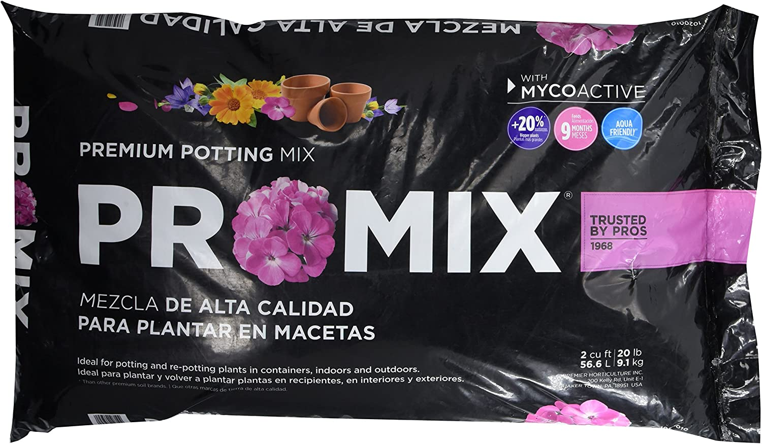 Premier Horticulture 2CF Pro Mix Ultimate Potting Loose