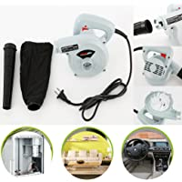 600W 220V 16000RPM High Efficiency Electric Air Blower Vacuum Cleaner Blowing/Dust collecting For Leaf Green Garden Yard Computer Furniture Vehicle Dust Cleaning