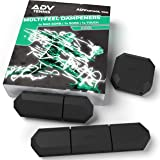 ADV Tennis Vibration Dampener - Set of 3 - Ultimate Shock Absorbers for Racket and Strings - Premium Quality, Durable, and 10