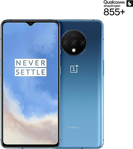 "OnePlus 7T Smartphone Glacier Blue | 6.55""/16,6 cm AMOLED Display ..."