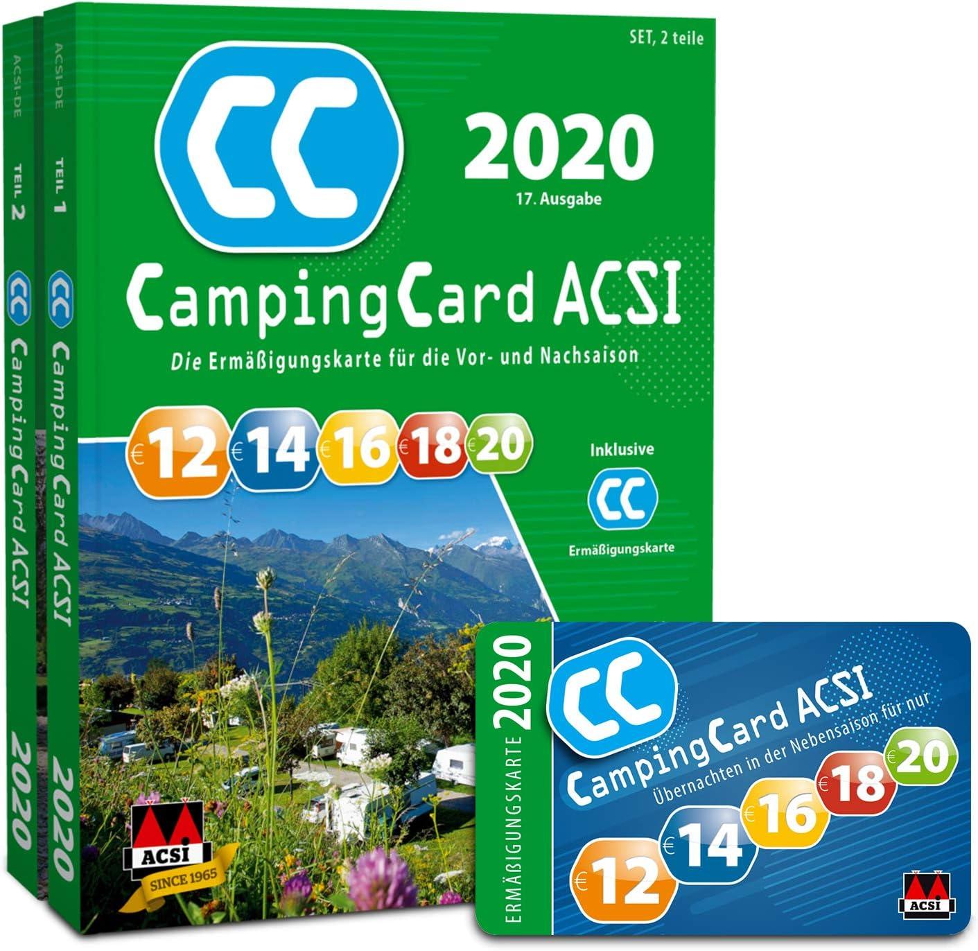 CampingCard ACSI 2020 - Edición alemana: ASCI: Amazon.es: Deportes y aire libre