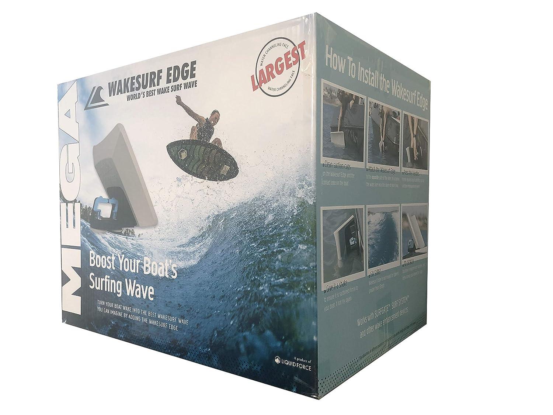 Liquid Force Wakesurf Edge Mega Wake Shaper - Biggest Shaper and Biggest  Wave in The Industry