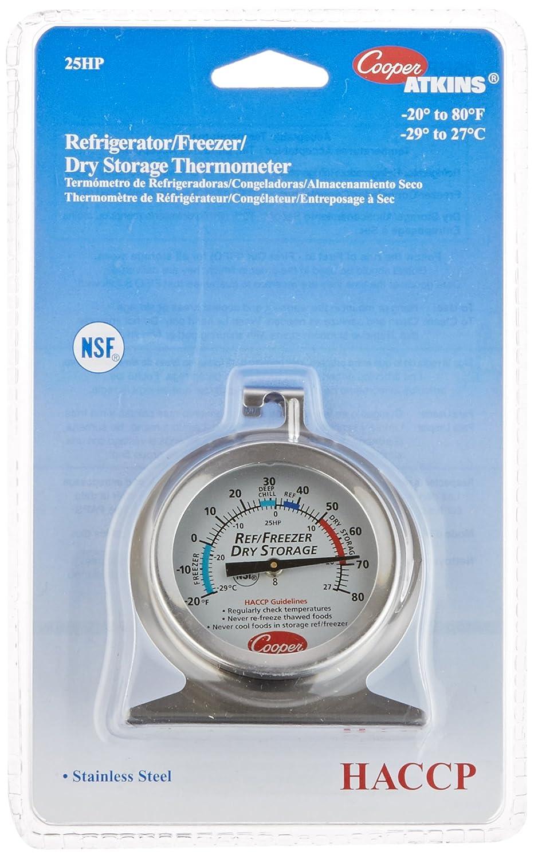 Cooper-Atkins 25HP-01-1 Refrigerator, Freezer, Dry Storage Thermometer