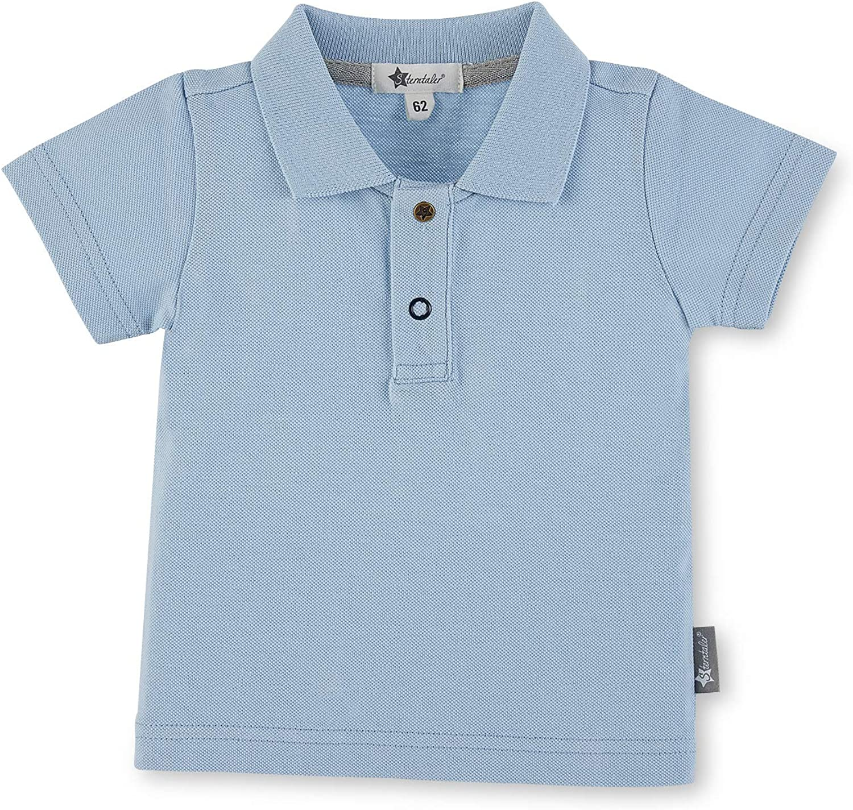 3-6m Light Blue Size Sterntaler Boys Polo Shirt