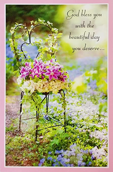 Amazoncom God Bless You With The Beautiful Day You Deserve For