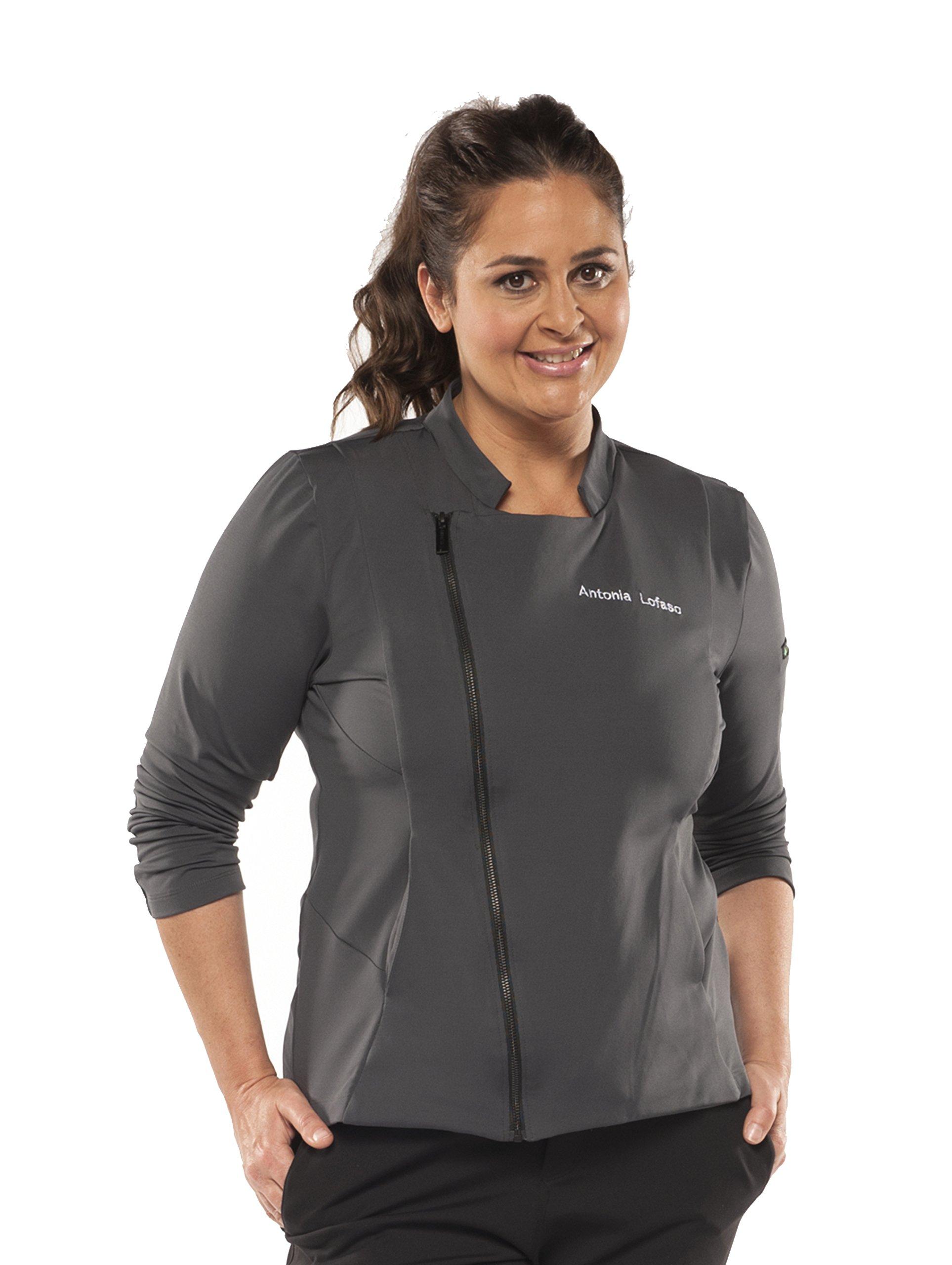 Chefletics ''Antonia'' Coat (Small, Charcoal)