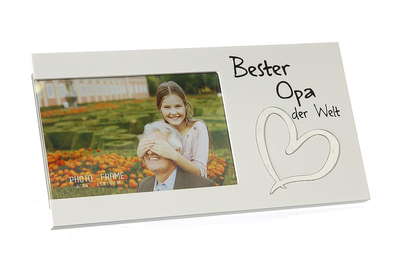 Bilderrahmen für ein Foto mit Spruch - (Bester Opa) - Bester/Beste ...