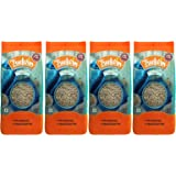 Truefarm Foods Organic Whole Grain Barley, 250g (Pack of 4)