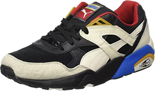 Puma R698 Flag, Zapatillas para Hombre, Multicolor Black-Whisper White, 40.5 EU: Amazon.es: Zapatos y complementos
