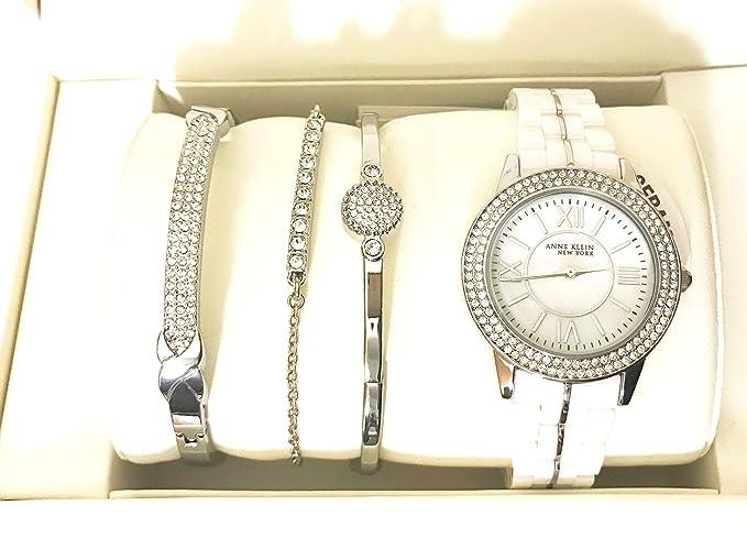 Klein Mujer Juego Reloj Pulsera Anne De Con Y Para Cerámica 0OknwP