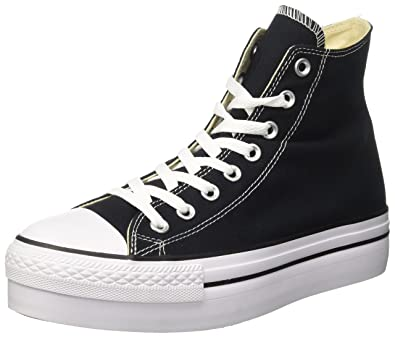 converse ctas hi platform leather sneaker a collo alto donna