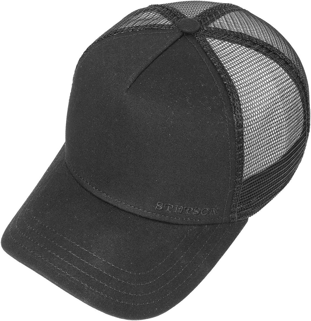 STETSON Classic Cotton Trucker Cap Truckercap Mesh Meshcap Basecap Baseballcap