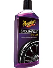 Meguiar's G7516 Endurance Tire Gel - 16 oz. – Premium Tire Gel for a Lasting Glossy Shine
