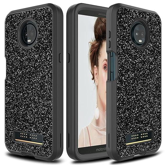 552d7fb1230f Amazon.com  USHAWN Moto Z3 Play Case