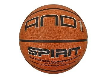 AND1 Spirit - Pelota de Baloncesto, Color marrón: Amazon.es ...