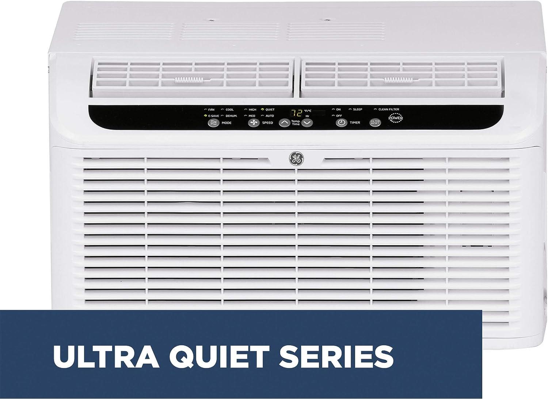 GE AHQQ06LX Serenity Quiet 6,000 BTU Window Air Conditioner, White