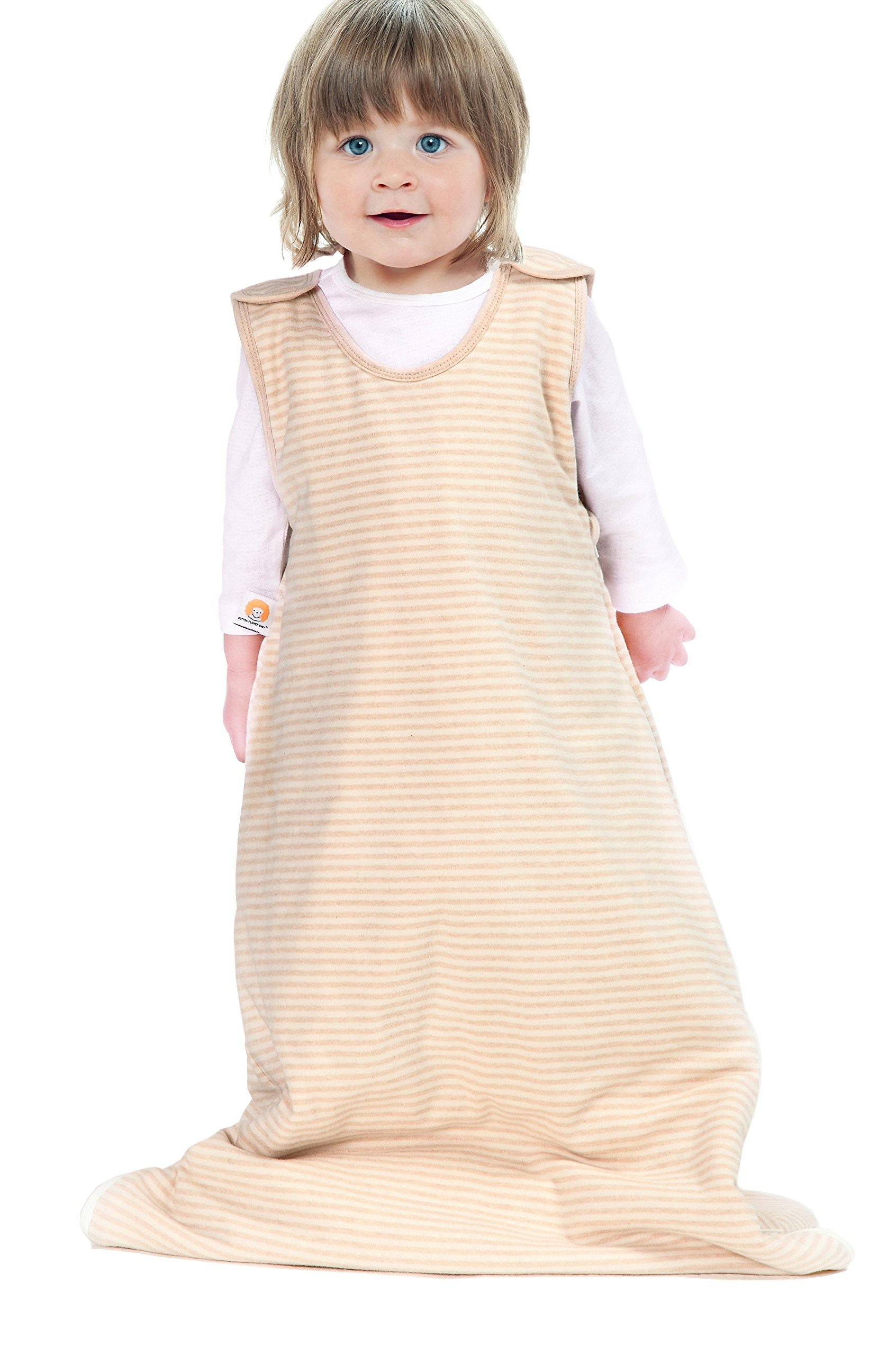 Cotton Flower Baby (Toddler) Sleeping Bag, 100% Cotton outer & filling, 1.5-2.5 & 2.5-4 Years by Cotton Flower Baby