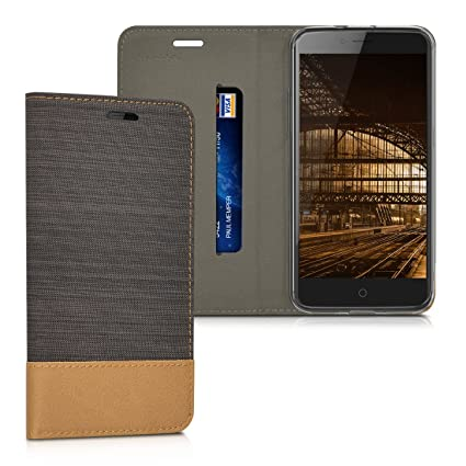 Amazon.com: kwmobile Book Style Case for ZTE Blade V7 (5.2 ...