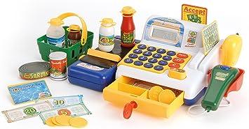 Toyrific Caja registradora Play con escáner y Compra de Juguetes, a Partir de 3 años: Amazon.es: Juguetes y juegos