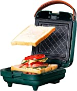 Breakfast Electric Sandwich Maker Toasting Grilling Panini Press Grill Gourmet with