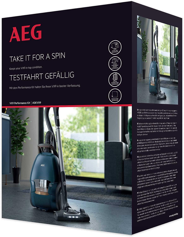 Aeg ASKVX9S-Bag Ultra Long Performance Vacuum Bags Kit for,