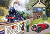 Gibsons Back on Track Jigsaw Puzzle, 500 piece