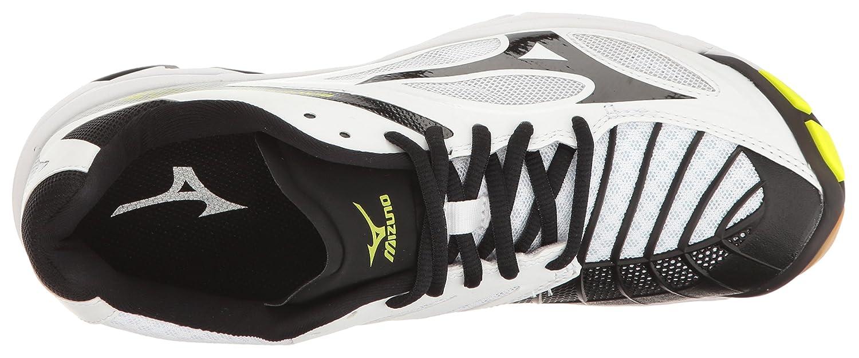 Mizuno Women's Wave Lightning M Z3 Volleyball Shoe B01N8VZ7UH 13 M Lightning US|White/Black 0183db