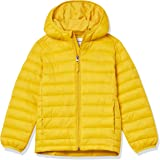 Amazon Essentials Boys' Light-Weight Water-Resistant Packable Hooded Puffer Coat