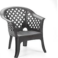 IPAE sillón, Antracita, 72x72x76cm