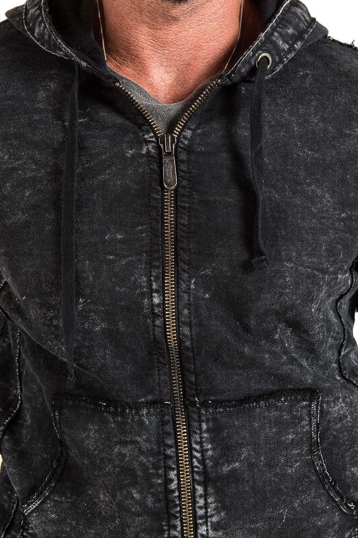 Stitchs Jeans Mens Vintage Hoodie