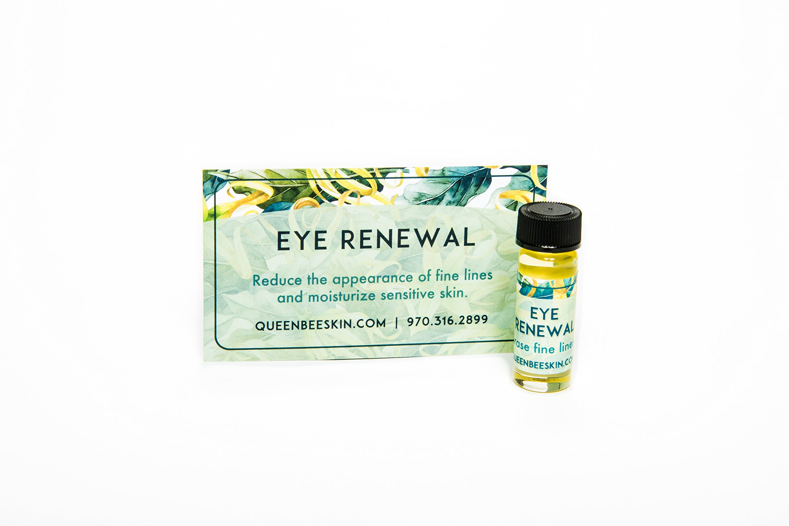 24 Hour Organic Eye Renewal Serum Noticeable Reduces Fine Lines Right Away from Queen Bee