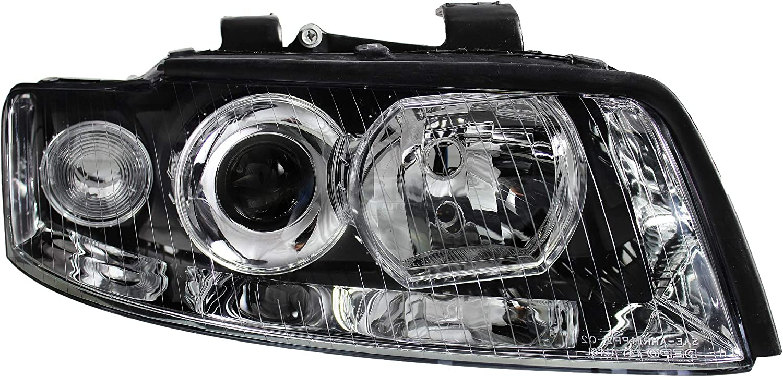 Scheinwerfer Set f/ür A4 B6 Typ 8E Bj Lampen 00-04 Limo Avant H7+H7 inkl