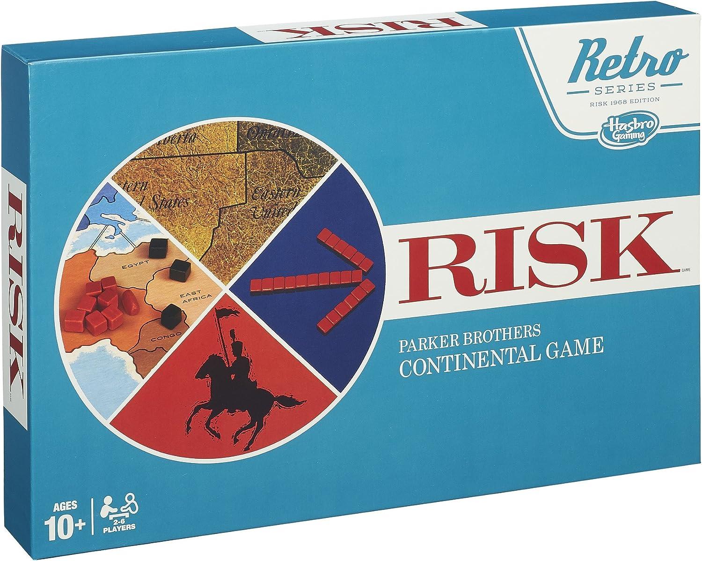 Hasbro B28491010 – Juego de reflexión, Risk Vintage: Amazon.es ...