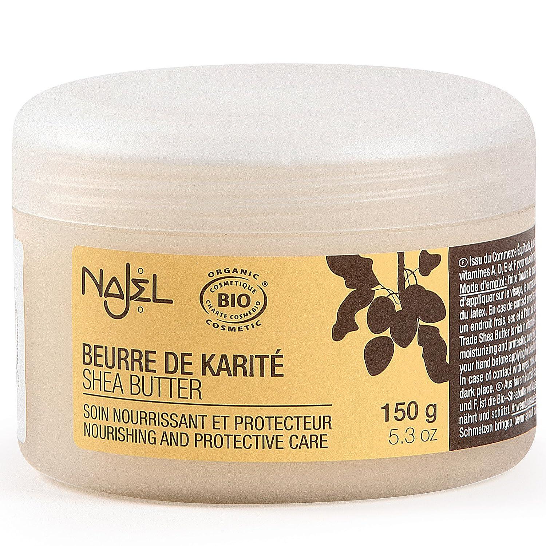 NAJEL - Manteca De Karité Pura Bio, Comercio Justo