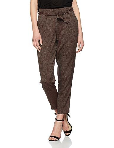 New Look Ernie Tie Waist Pantalones, Mujer