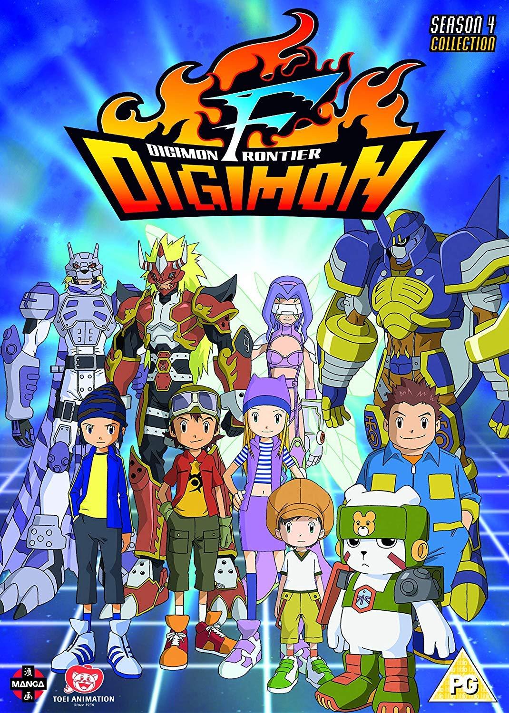 Risultati immagini per Digimon Frontier