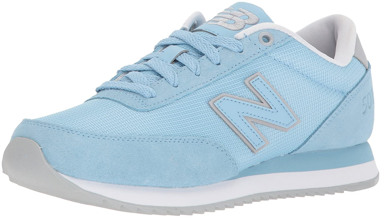 New Balance Women's 501v1 Sneaker B06XWVW3NW 6 B(M) US|Clear Sky/White