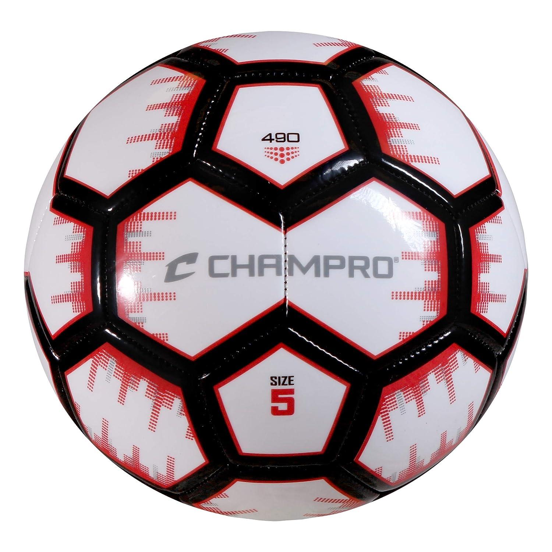 Champro Renegade - Balón de fútbol, Color Scarlet, tamaño Talla 3 ...