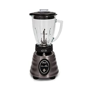Oster BPMT02-BS0-000 Collection Heritage Blend 400, Stainless Steel, Black, 6 Cup