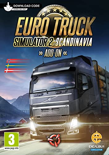 Euro Truck Simulator 2 - Scandinavia Add-On [Importación Francesa ...
