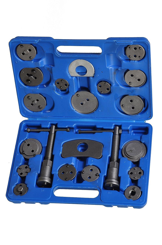 Tech Traders® , Kit di attrezzi per regolare i pistoni della pinza del freno, 21 pezzi TT21PCS-BRAKE PISTON