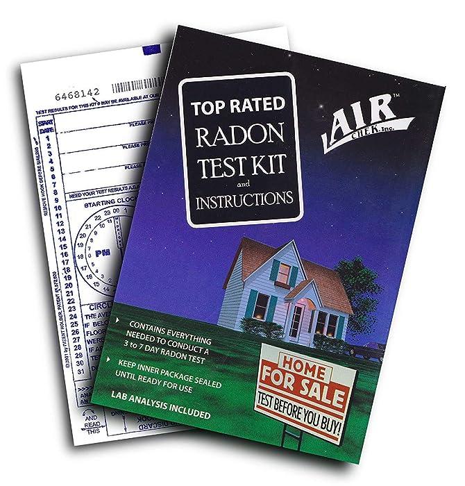 AirChek 43237-2 3 to 7 Day Charcoal Radon Test Kit