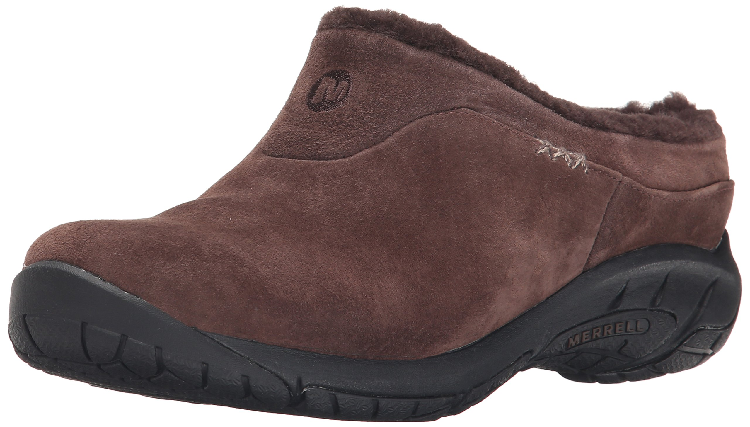 Merrell Women's Encore Ice Slip-On Shoe, Chocolate Brown, 5 M US