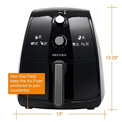 Secura 4 Liter Air Fryer Review