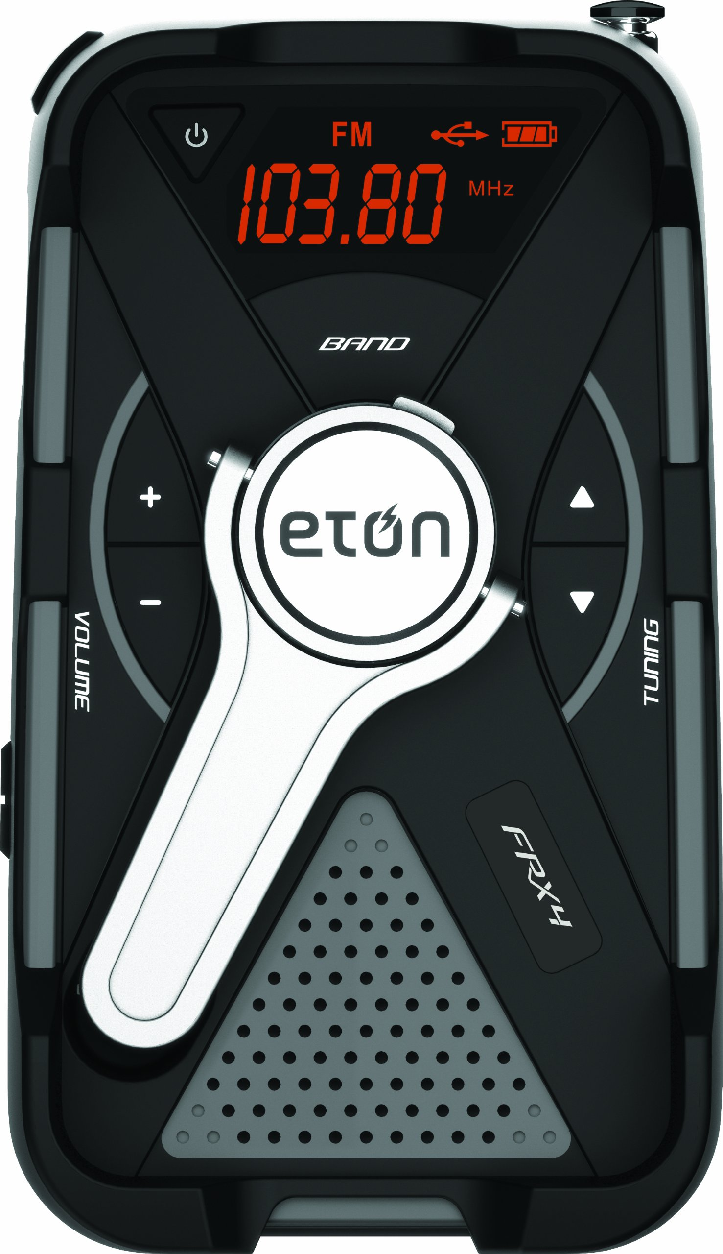 Eton All-Purpose Weather Alert Radio, FRX4 (Gray)