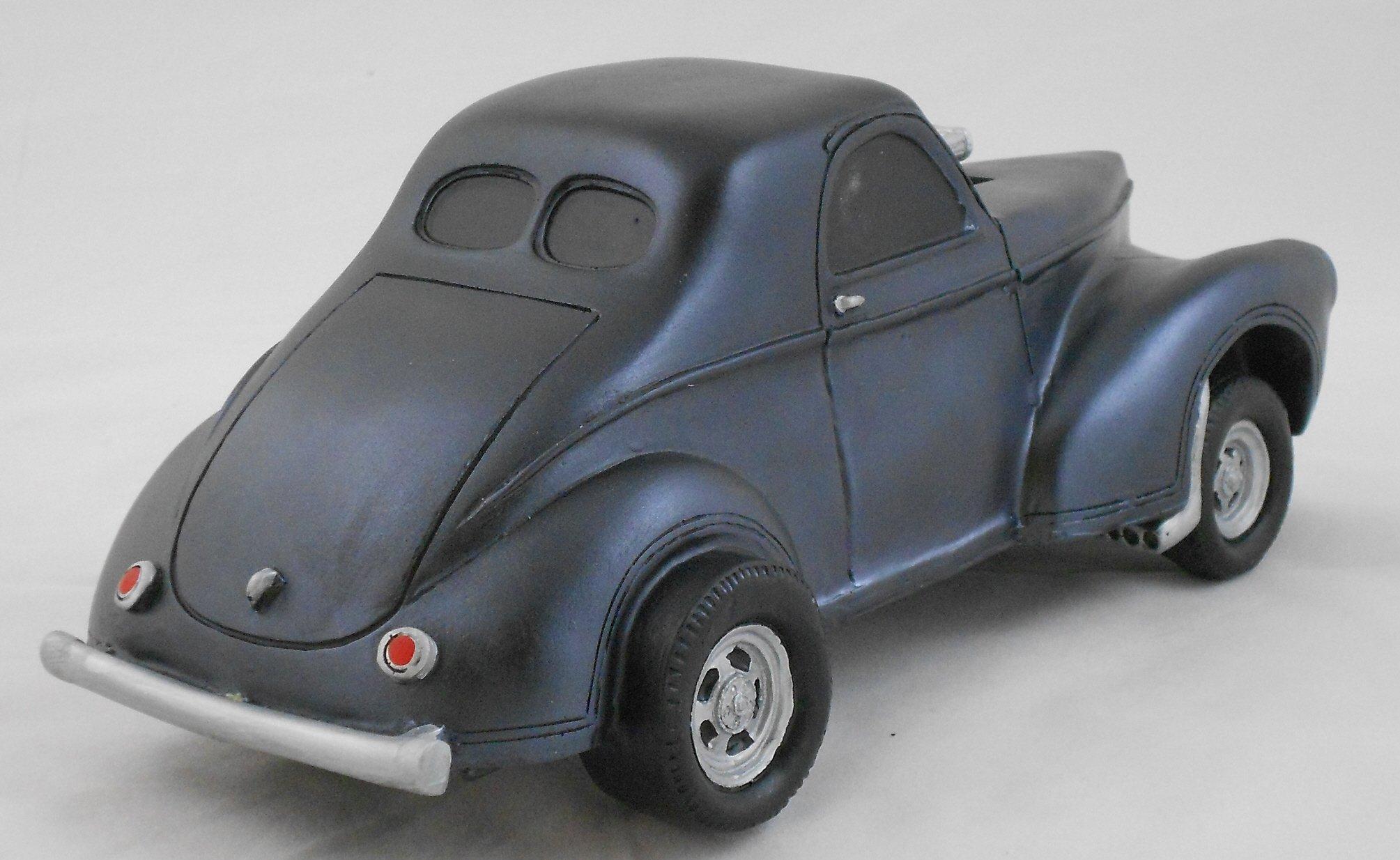 Gasser Model 1941 Willys 1:18 Scale Black by Gasser Models (Image #3)