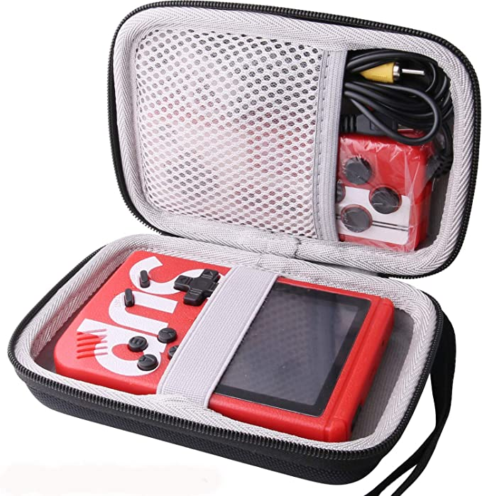 Gray Baval Hard Carrying Case Replacement for JAMSWALL//Diswoe//UTTORA//TAPDRA Handheld Game Console