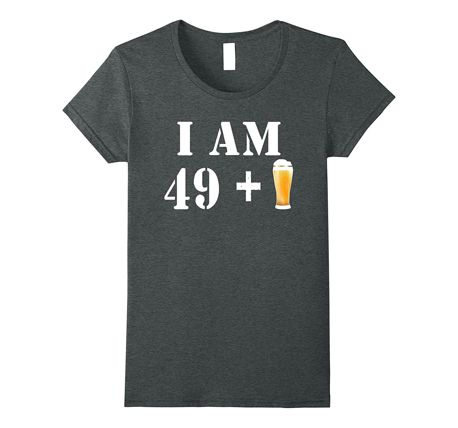 50th Birthday T-Shirt Funny Vintage Gift Idea For Beer Lover